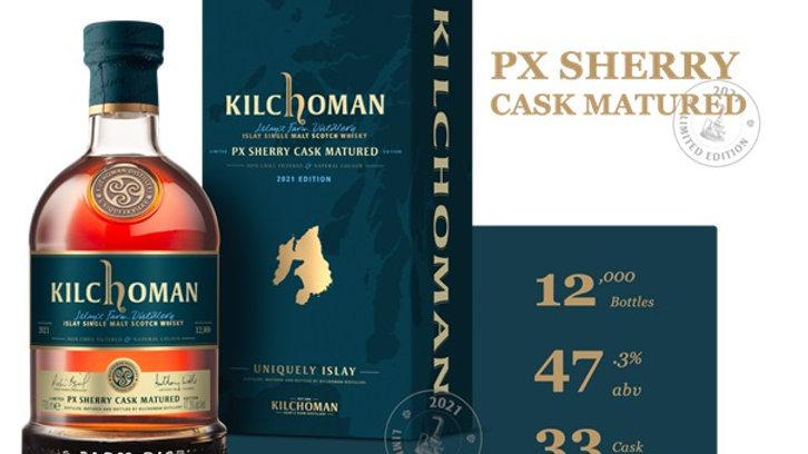 Kilchoman PX sherry cask matured 2021 edition 0.7L