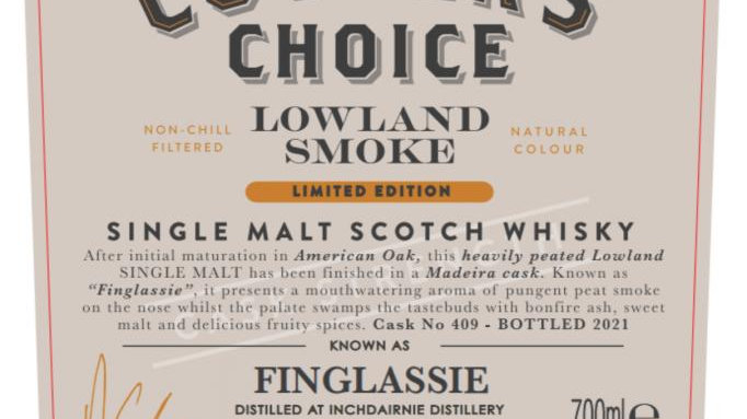 Inchdairnie - Finglassie Coopers Choice 0.7 ltr