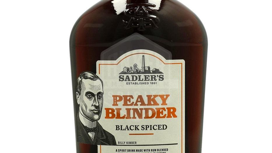 Peaky Blinder Black Spiced Rum 0.7 Ltr