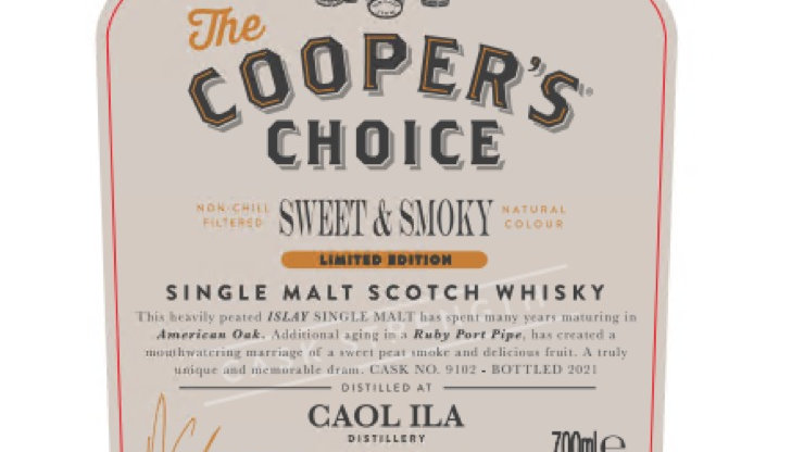 Caol Ila Coopers Choice 0.7 Ltr