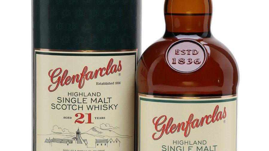 Glenfarclas 21 jaar 0.7 Ltr