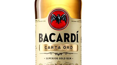 Bacardi Carta Oro 1.0 Ltr