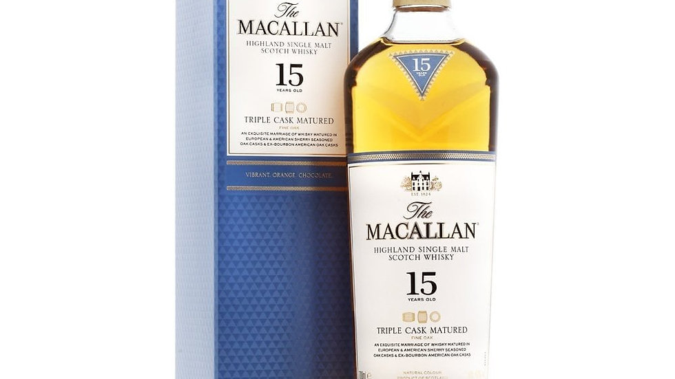 Macallan 15 Triple Cask 0.7 Ltr