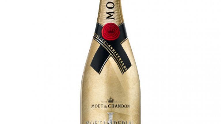Moet & Chandon Gold Bottle 0.75 Ltr