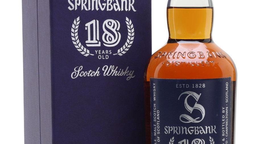 Springbank 18 jaar 0.7 Ltr