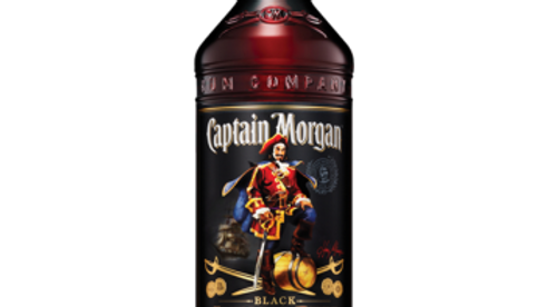 Captain Morgan Dark Rum 0.7 Ltr