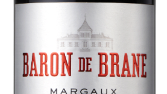Baron de Brane Margaux 2014 0.75 LTR