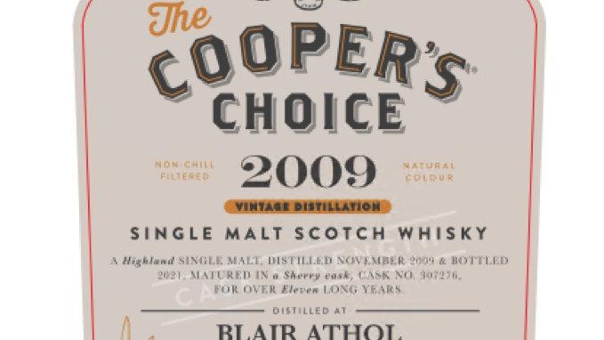 Blair Athol Coopers Choice 0.7 Ltr