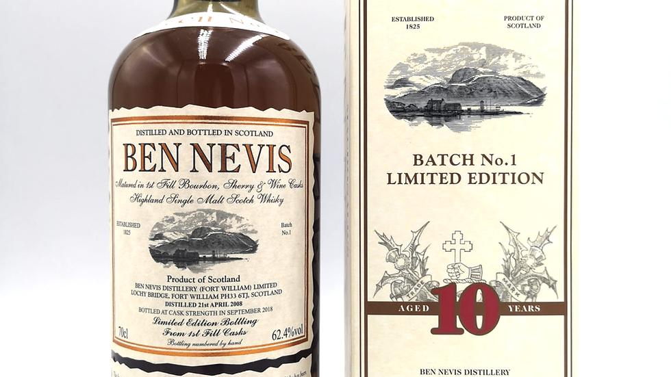 Ben Nevis Limited Edition 10 jaar 0.7 ltr