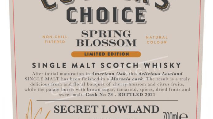 Secr Lowland Spring Blossom Coopers Choice 0.7 Ltr