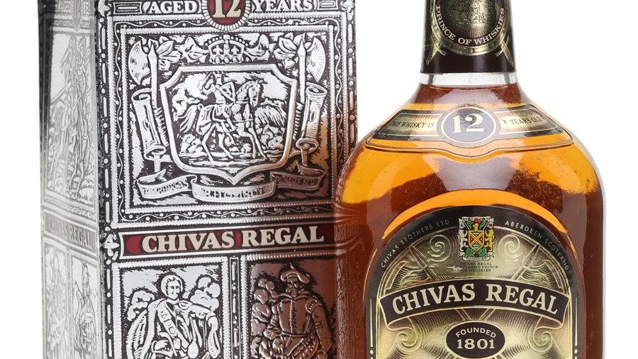 Chivas Regal 12 jaar Old bottle 0.7 Ltr