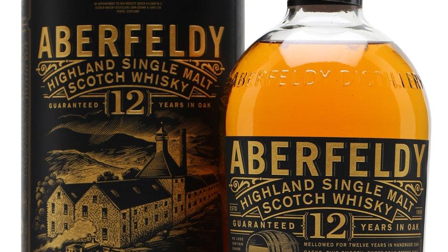 Aberfeldy 12 jaar 0.7 Ltr