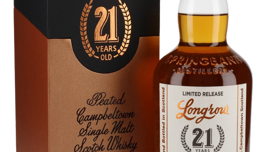 Longrow 21 Jaar  Limited Edition 0.7 Ltr