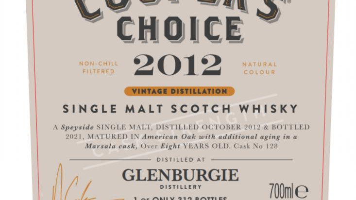 Glenburgie Coopers Choice 0.7 Ltr