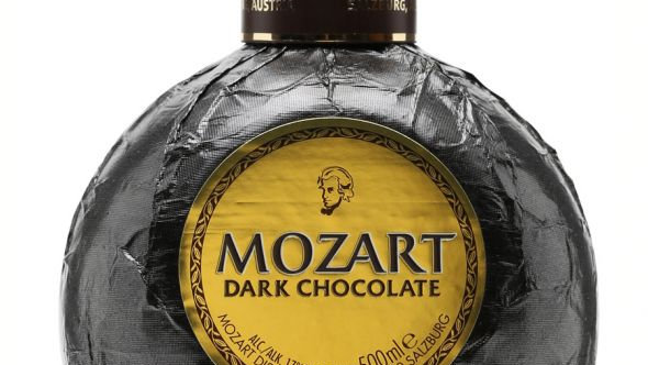 Mozart Dark Chocolate 0.5 Ltr