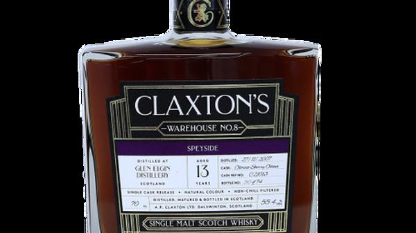 Claxton's Glen Elgin Single Cask 0.7 Ltr