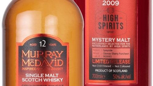 Murray McDavid Mystery Malt Speyside's Finest 2009 - 12YO