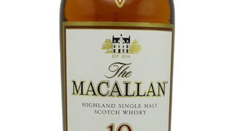 Macallan Sherry 10 jaar 0.7 Ltr