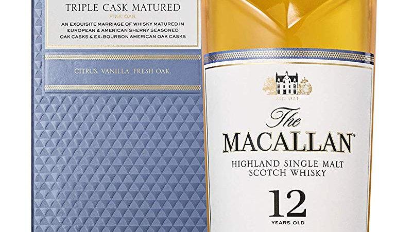 Macallan 12 years Triple Cask 0.7 Ltr