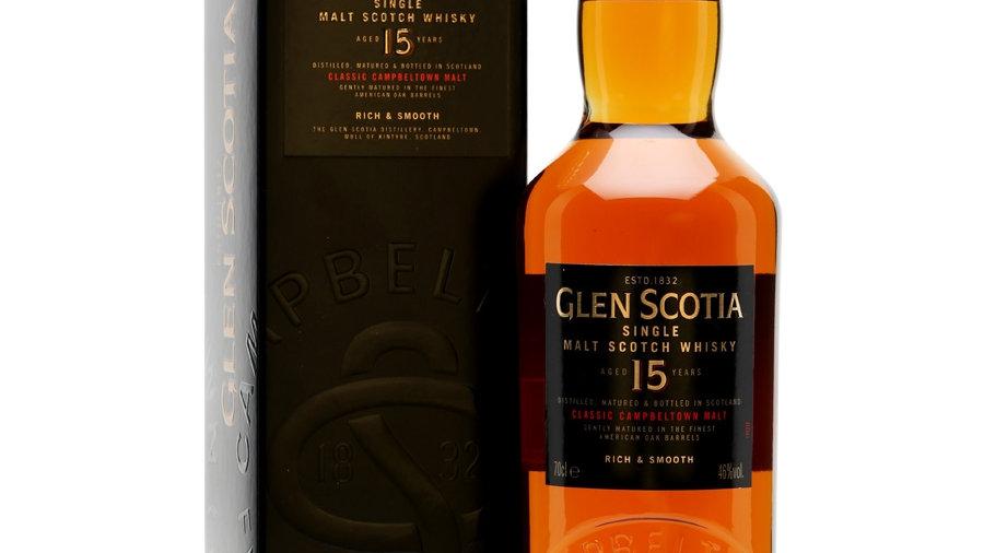 Glen Scotia 15 jaar 0.7 Ltr