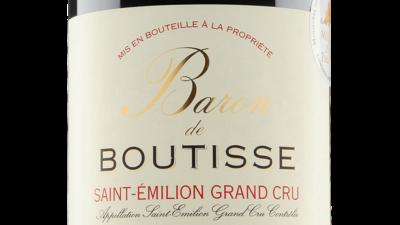 Baron de Boutisse St Emilion Grand Cru 2015 0.75 LTR