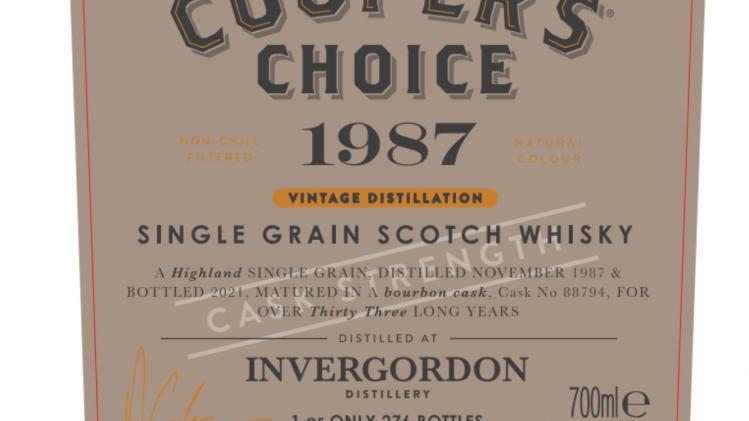 Invergordon Coopers Choice 0.7 Ltr