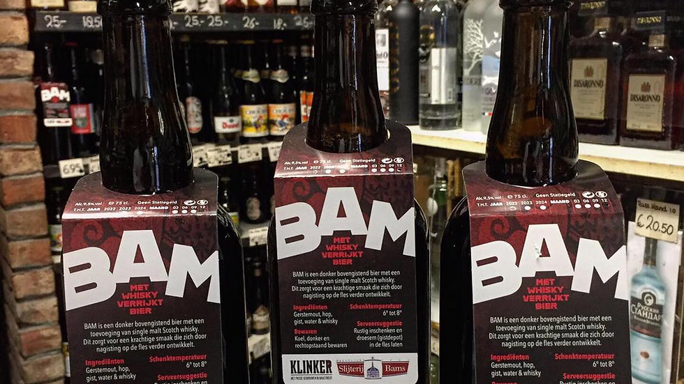 Bier van Drankenshop Bams Batch 2  BAM Bier 0.75 Ltr