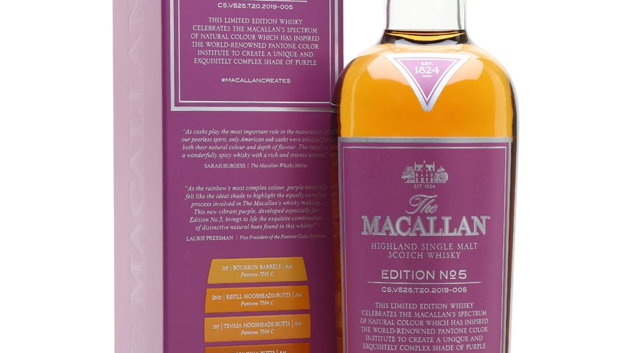 Macallan No 5 0.7 Ltr