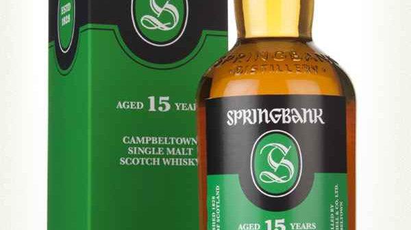 Springbank 15 jaar 0.7 Ltr