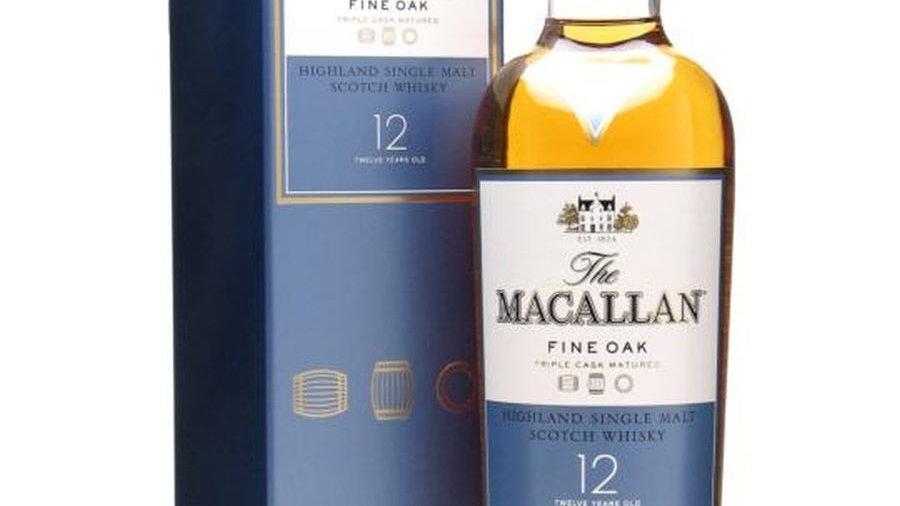 Macallan Fine oak 12 jaar 0.7 Ltr