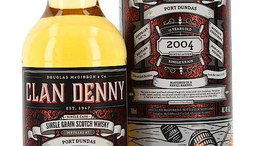 Port Dundas Clan Denny 15 jaar 0.7 Ltr