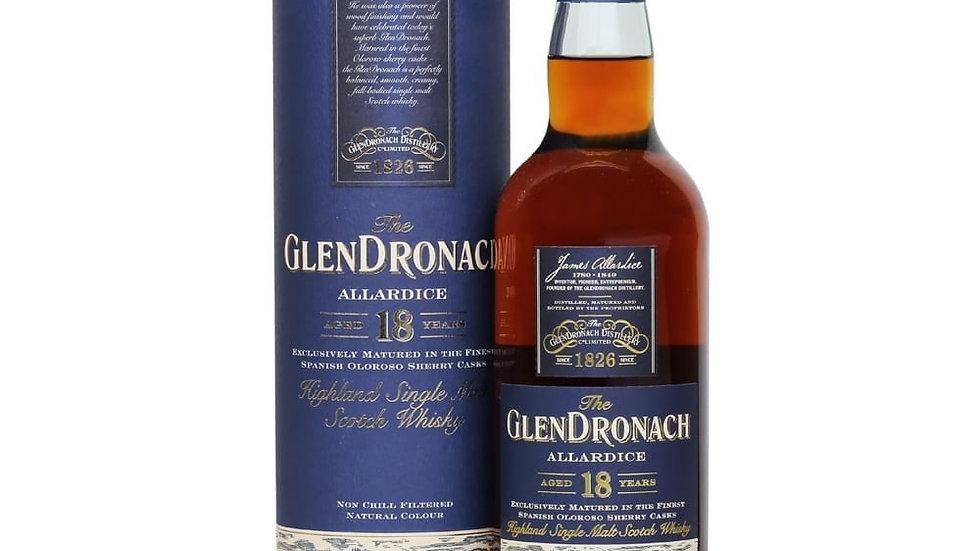 Glendronach 18 jaar 0.7 Ltr