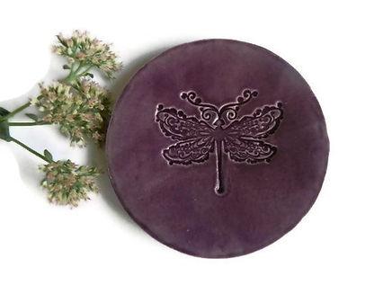 Purple Dragonfly Jewelry dish