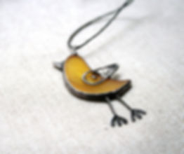 Bird Necklace Pendant, Animal Lovers Gift