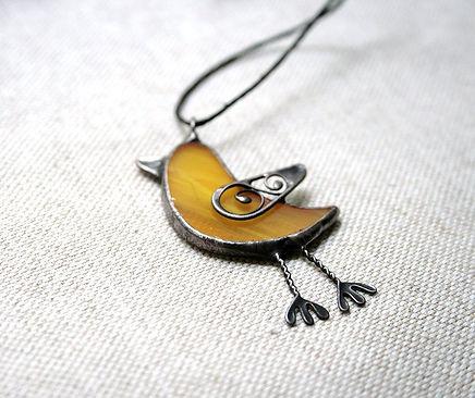 Bird Necklace Pendant, Animal Lovers Gift
