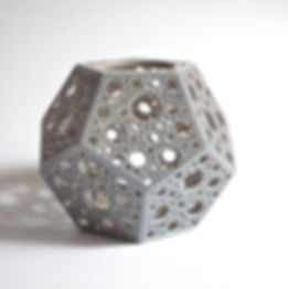 Candle Holders Dodecahedron