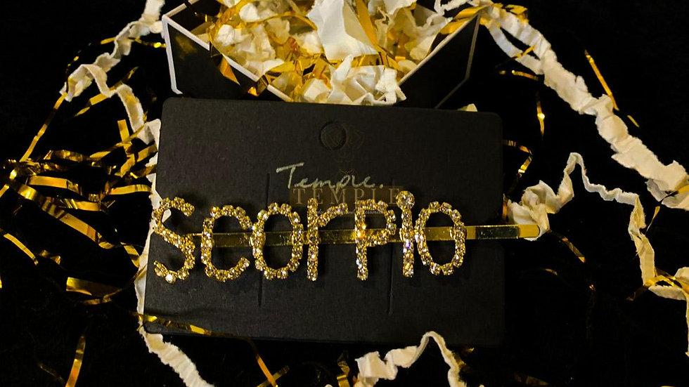 """""""Scorpio"""" Hair Clip"""