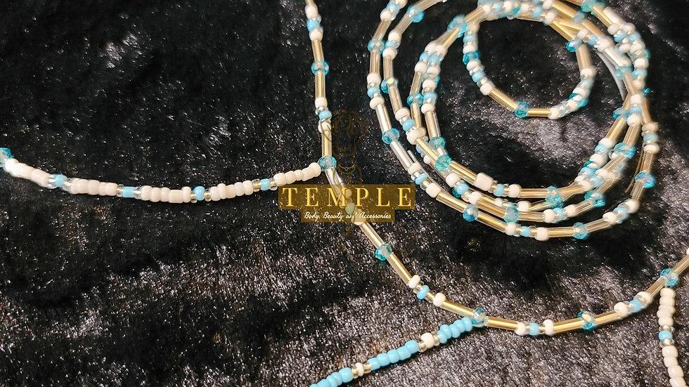 Ice Queen Goddess Waist Bead Set