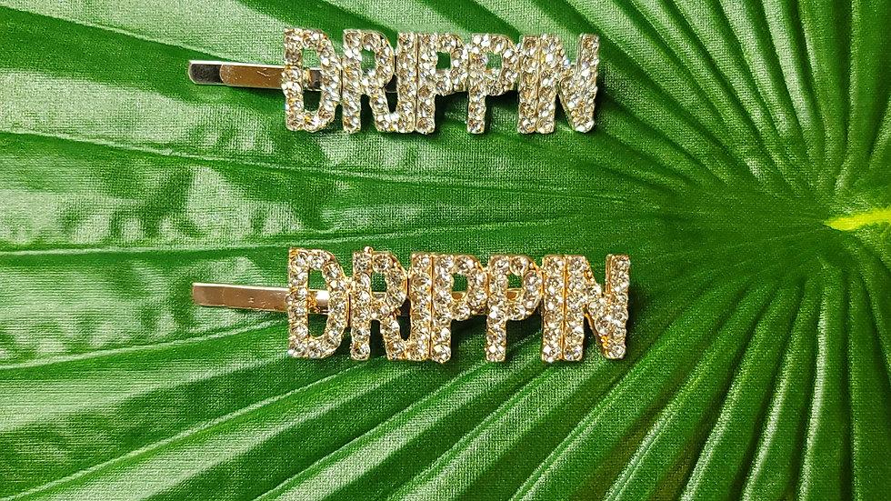 """""""DRIPPIN"""" Hair Clip"""