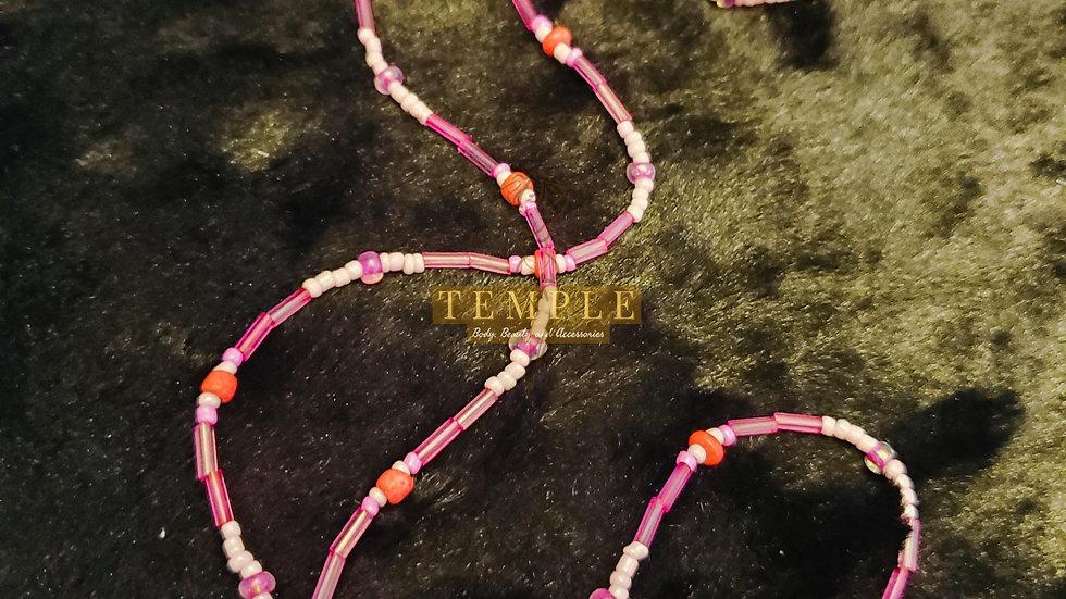 Pink Love Goddess Waist Bead