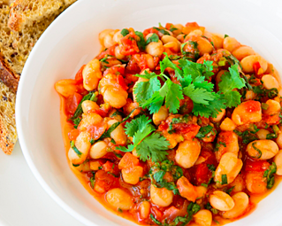 Hearty & Healthy Baked Beans