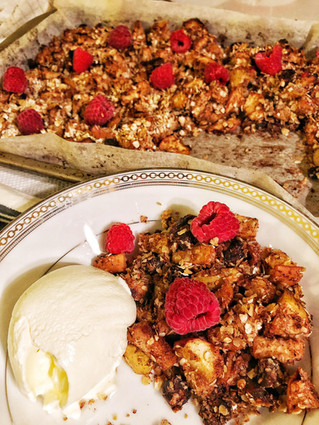 Apple Crumble: Healthy enough for breakfast!