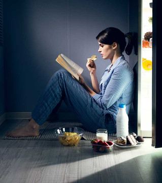 Eating at night time can negatively affect our health