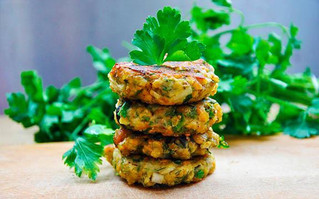 Lentil & Mince Patties
