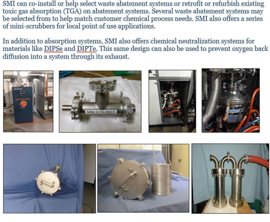 Structured Materials Industries SMI Abatement Systems