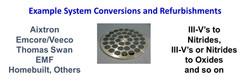SMI MOCVD Conversion Refurbishment