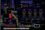 SMARTCVD™, Control System, Mimic Screen, MOCVD Control System
