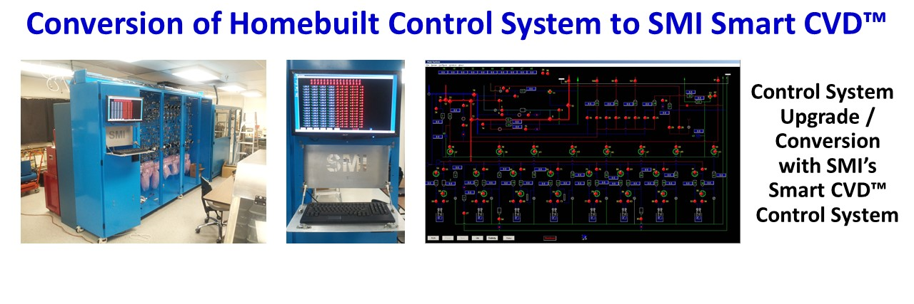 SMI MOCVD System Design Process