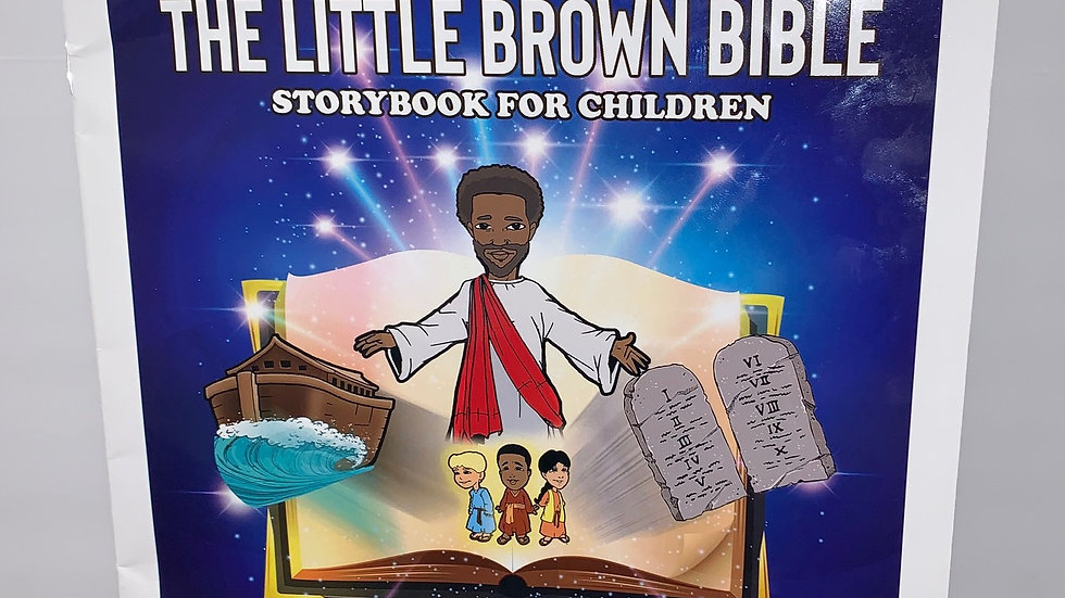 Coloring Book - The Little Brown Bible Storybook for Children