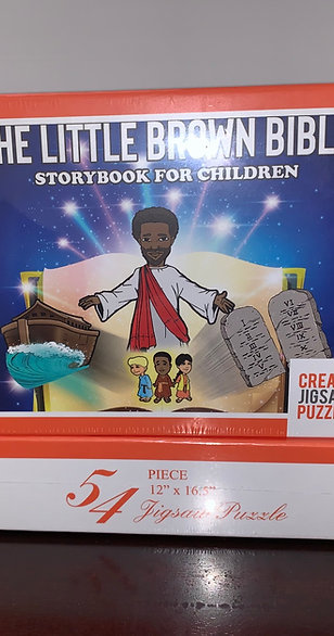 Puzzles - The Little Brown Bible Storybook for Children